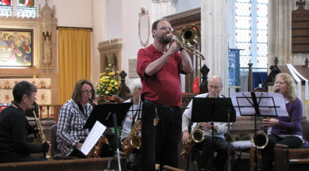 Third photo of Share Music group at Chittlehampton 10 May 2013