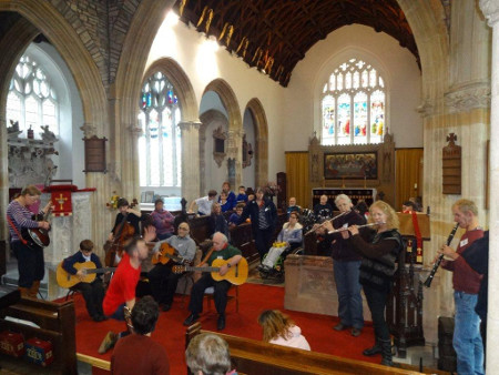 First photo of Share Music group at Chittlehampton 27 November 2015