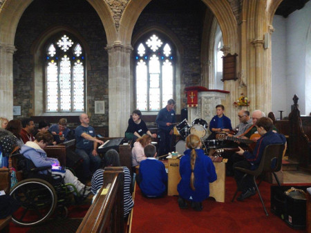 Third photo of Share Music group at Chittlehampton 27 November 2015