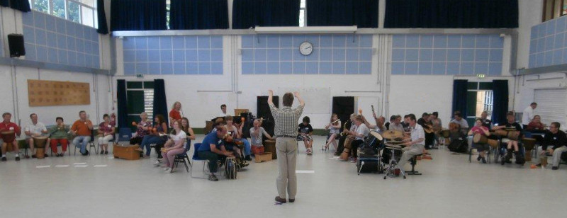Photo of ShareMusic South-West event at Exmouth College, July 2014
