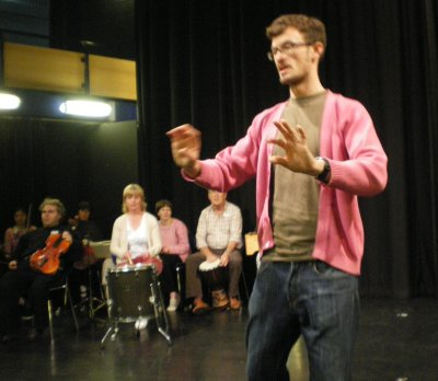 Photo of Share Music group at Kingsley College 7 October 2009