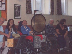 Third photo of Share Music group at South Molton Methodist church 27 October 2010
