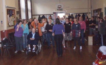 Fourth photo of Share Music group at South Molton Methodist church 27 October 2010